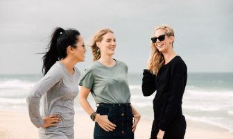 Soult CLothing models on beach