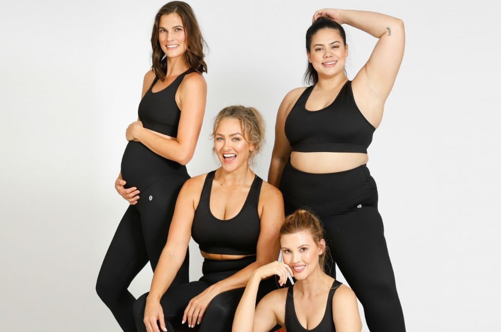 Active Truth models wearing activewear