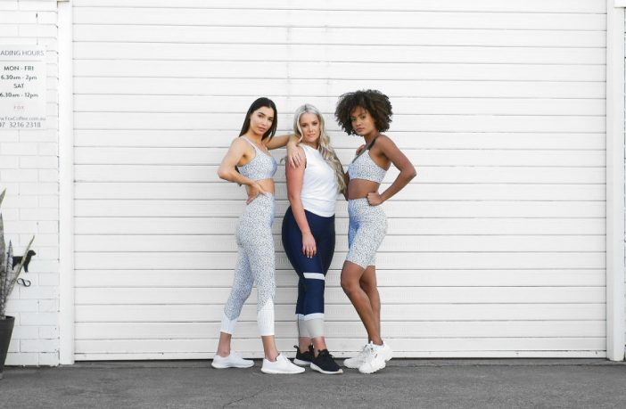 D plus K activewear models