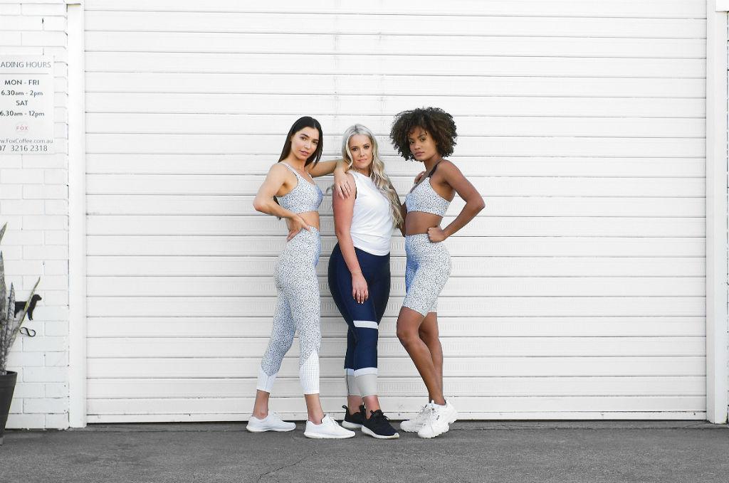 D plus K activewear models