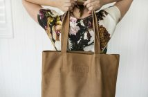 Empire of bees leather bag
