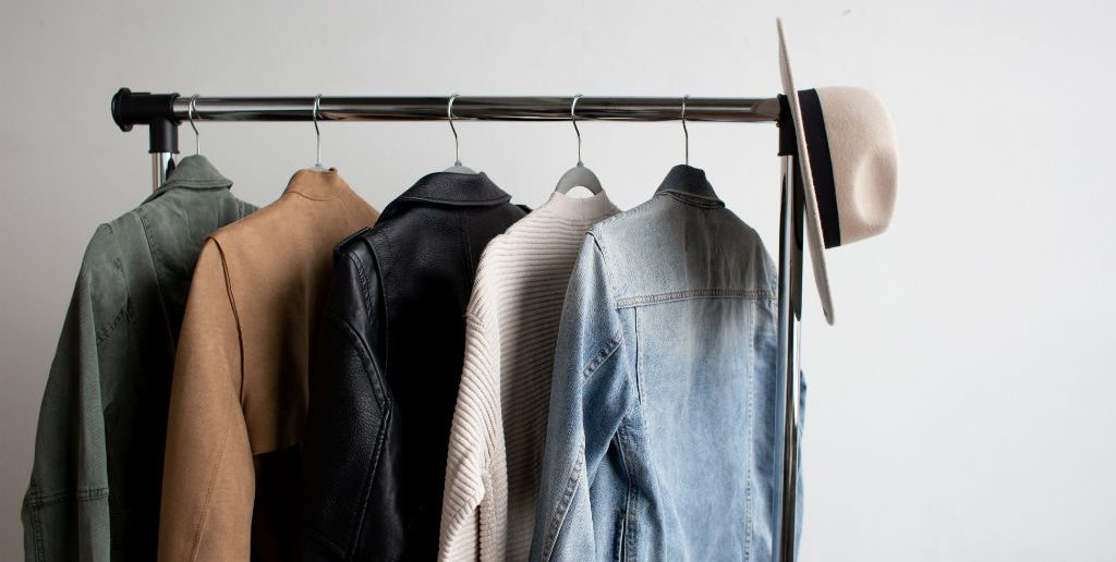 clothes swap rack