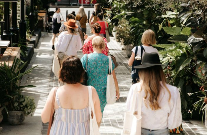 Brisbane Fashion Month walking tour
