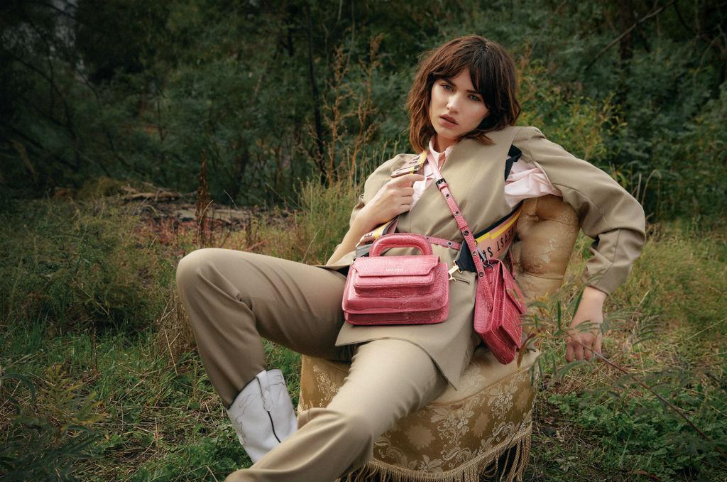 Sans Beast pink handbags
