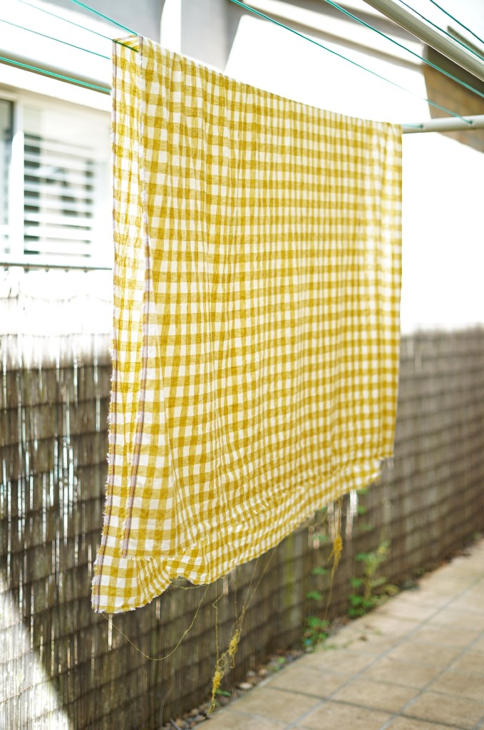 Fabric on the line