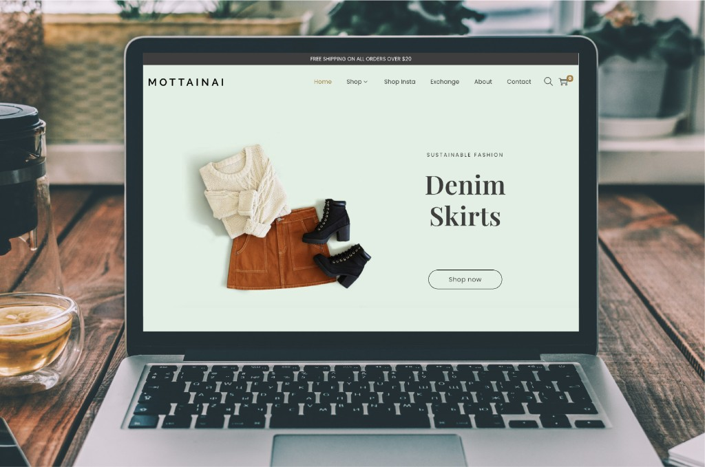 Monttainai website