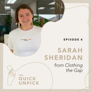 Sarah Sheridan from Clothing the Gap