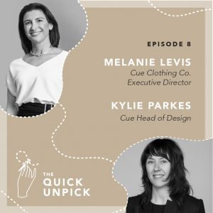 The Quick Unpick Podcast ep with Cue