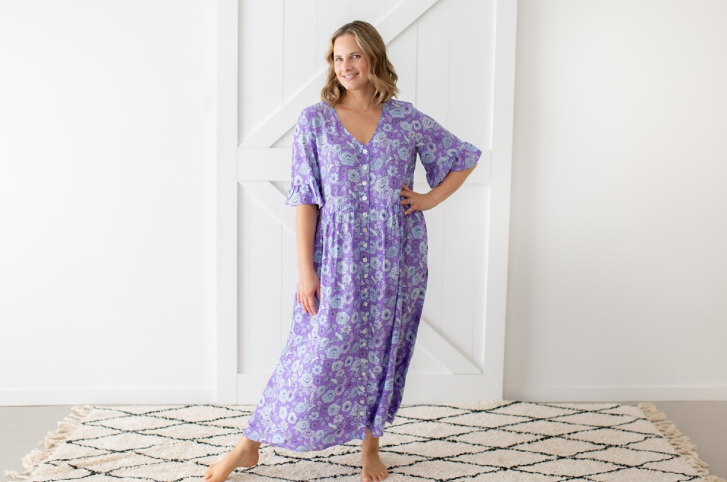 Isle of Summer dress purple
