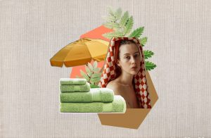 Organic cotton towel feature